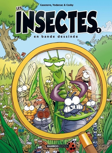 Les insectes en bande dessinée  v.1