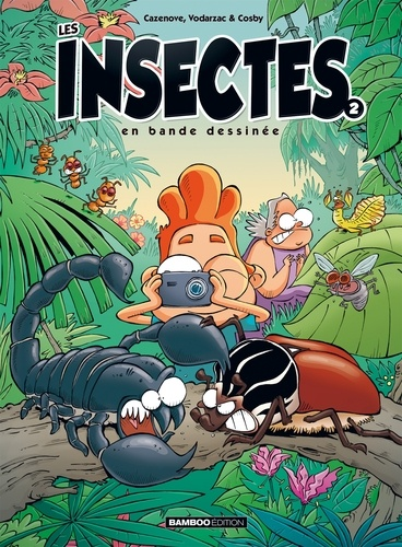 Les insectes en bande dessinée  v.2