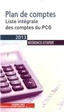 Ordre des Experts-Comptables - Plan de comptes - Liste intégrale des comptes du PCG.