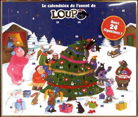 Le calendrier de l'avent de Loup. Avec 24 figurines  Edition 2020