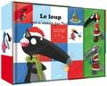 Orianne Lallemand et Eléonore Thuillier - Le coffret Loup et Louve de Noël - Avec 2 figurines.