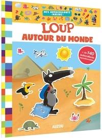 Deedr.fr Loup autour du monde - Avec + de 140 autocollants repositionnables Image