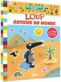 Orianne/thuillier eleonore Lallemand - Loup autour du monde - mes autocollants malins.