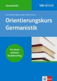 Orientierungskurs Germanistik.