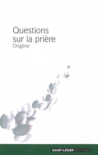 Origène - La prière.