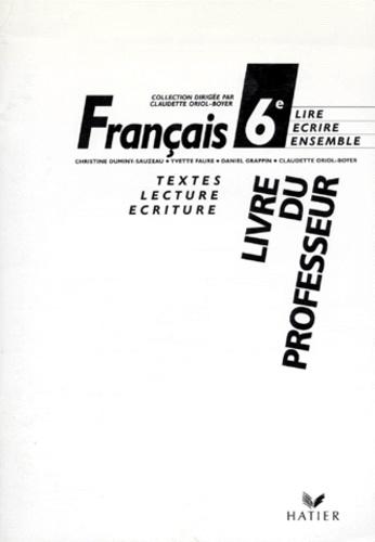 Francais 6eme Livre Du Professeur