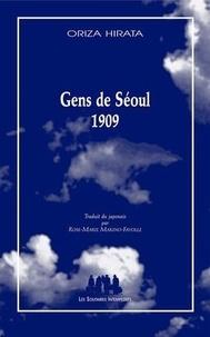 Oriza Hirata - Gens de Séoul 1909.