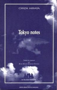 Oriza Hirata - Tokyo notes.
