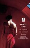 Ornela Vorpsi - Le pays où l'on ne meurt jamais.