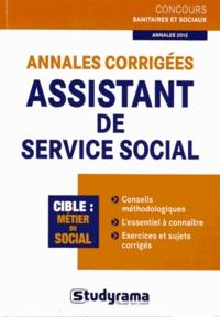 Orsetta Bechelloni - Annales corrigées assistant de service social.