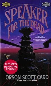 Orson Scott Card - Speaker for the Dead.