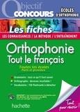 Orthophonie : tout le français Fiches.