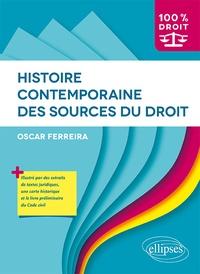 Oscar Ferreira - Histoire contemporaine des sources du droit.