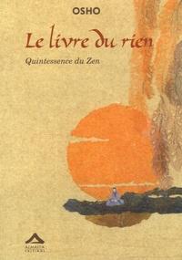 Le livre du rien- Quintessence du Zen -  Osho |