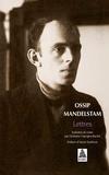 Ossip Mandelstam - Lettres.
