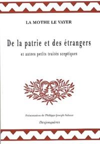 osteur Lettre sur la comédie de l'imp - De la patrie et des étrangers - Et autres petits traités sceptiques.
