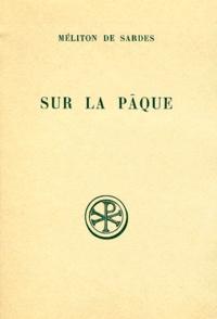 Othmar Perler et  Méliton de Sardes - .