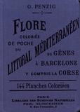 Otto Penzig - Flore coloriée de poche du littoral méditerranéen - De Gênes à Barcelone y compris la Corse.