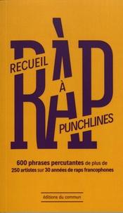 Ouafa Mameche - Recueil à punchlines - 600 phrases percutantes de plus de 250 artistes sur 30 années de raps francophones.