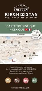 Olivia Casari et Victor Michaud - Carte touristique du Kirghizistan - Avec un lexique français - kirghize.