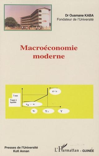 Ousmane Kaba - Macroéconomie moderne..