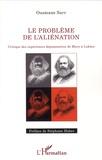 Ousmane Sarr - Problème de l'aliénation - Critique des expériences dépossessives de Marx à Lukacs.