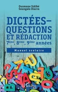 Dictées - Questions et rédaction 7ème, 8ème, 9ème années - Manuel scolaire.pdf