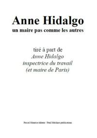 Ouvrage Collectif - Anne Hidalgo, un maire pas comme les autres - tiré à part.