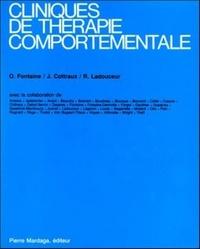 Ovide Fontaine et Jean Cottraux - Cliniques de thérapie comportementale.