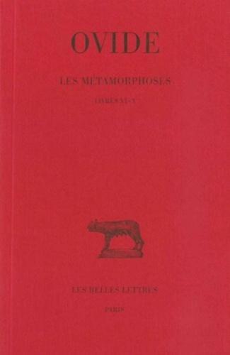Ovide - Les métamorphoses - Tome 2, Livres VI-X.