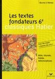 Ovide et  Virgile - Les textes fondateurs 6e.