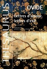 Histoiresdenlire.be Lettres d'amour, lettres d'exil - Edition bilingue français-latin Image