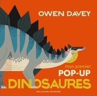 Owen Davey - Mon premier pop-up dinosaures.