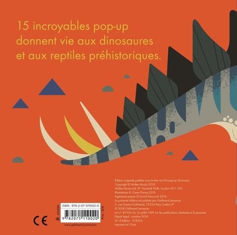 Mon premier pop-up dinosaures