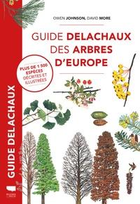 Owen Johnson - Guide Delachaux des arbres d'Europe.