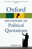 Oxford Dictionary of Political Quotations.