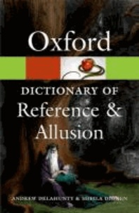 Oxford Dictionary of Reference and Allusion.