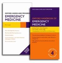 Oxford Handbook of Emergency Medicine and Oxford Assess and Progress: Emergency Medicine Pack.