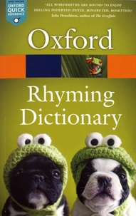 Oxford - New Oxford Rhyming Dictionary.