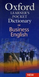 Oxford - Oxford Learner's Pocket Dictionary of Business English.
