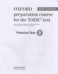 Oxford - Oxford preparation course for the TOEIC test - Practice Test 2.