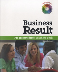 Oxford University Press - Business Result Pre-intermediate - Teacher's Book. 2 DVD