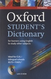 Oxford University Press - Oxford Student's Dictionary.