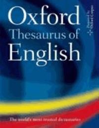 Oxford University Press - Oxford Thesaurus of English.
