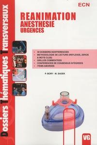 P Bory - Réanimation-anesthésie-urgences.