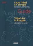 P Bourgoin et Jean Chabod - L'Art tribal en Europe.