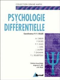 P Dickes et  Collectif - Psychologie différentielle.