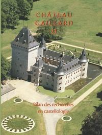 P. Ettel et A.-M. Flambard Héricher - Chateau Gaillard 23 - Bilan des recherches en castellogie.