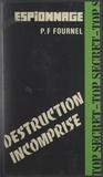 P.-Franck Fournel - Destruction incomprise.