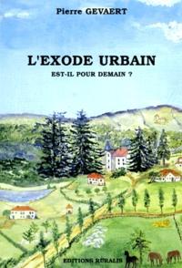 P Gevaert - L'exode urbain est-il pour demain ?.